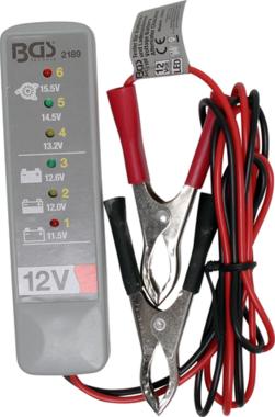 Testeur de batterie et systeme de chargement
