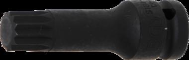 Douille a embouts longueur 78 mm 12,5 mm (1/2) denture multiple interieure (pour XZN) M18