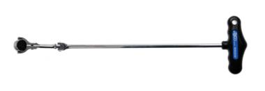 Cliquet articule avec poignee en T, inclinable 6,3 mm (1/4)