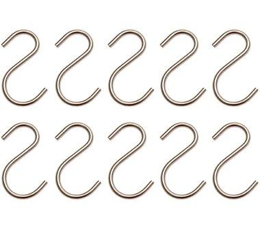 Jeu de crochets pour tringles de debosselage 10 pieces