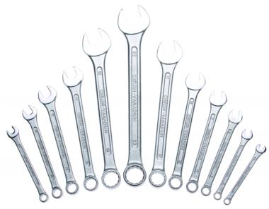 Set 12 cles mixte DIN 3113, 6-22 mm