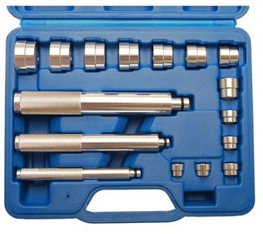 Set outils de montage roulement et joint spi, 17 pieces