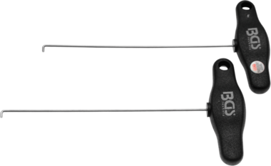 Jeu de crochets pour demontage de tableau de bord Mercedes 2 pieces