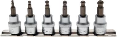 Ensemble de prise de bits en 7 pieces 3-8 mm, 6-pt, 3/8, avec t te billes