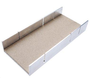 Boite onglets aluminium 245 x 106 x 44 mm