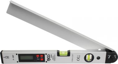 Comparateur d'angles LCD numerique avec niveau d'eau 450 mm