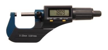 Vis micrométrique numérique 0 - 25 mm