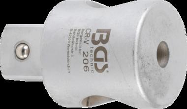 Adaptateur de poignée coulissante pour BGS 300-1 carré mâle 25 mm (1)