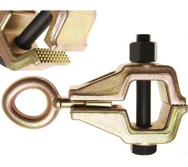 Griffe pour l'alignement de carrosserie, 45 mm, une direction de la traction, jusqu' a 5  a.