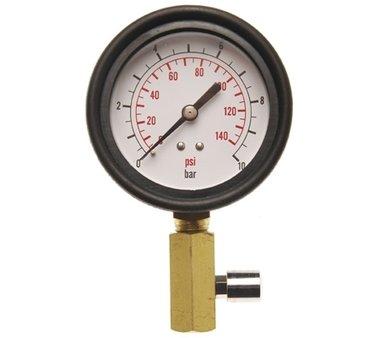 Evaluer avec Valve pour Testeur de pression d'huile BGS 8007