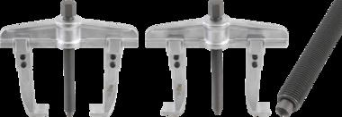 Extracteur parallele, filetage fin, 2 griffes 100 - 250 mm
