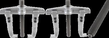 Extracteur parallele, filetage fin, 2 griffes 140 - 340 mm