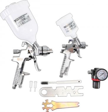 kit de pistolets peinture avec regulateur