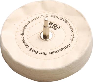 Disque a polir avec tige 6 mm