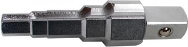 Cle de chauffagiste 12,5 mm (1/2) 5 etages