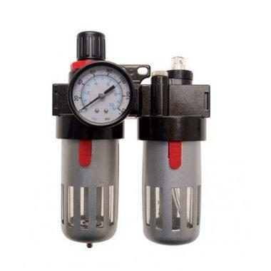 Epurateur/huileur avec regulateur de pression