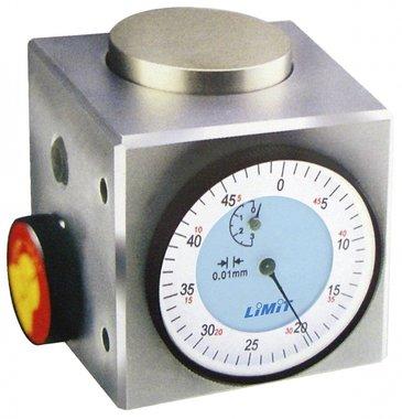 Jauge de mesure magnetique analogique, 50 mm