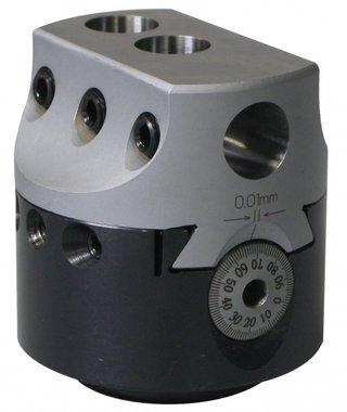 T te d'al esage sans avance automatique KKC2, 50mm