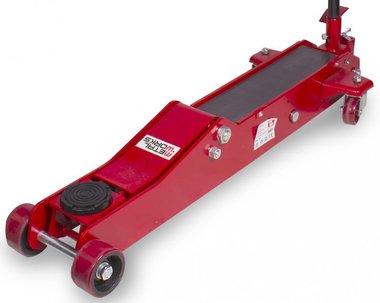 Cric rouleur hydraulique 3t - extra long et bas pour voitures sportives