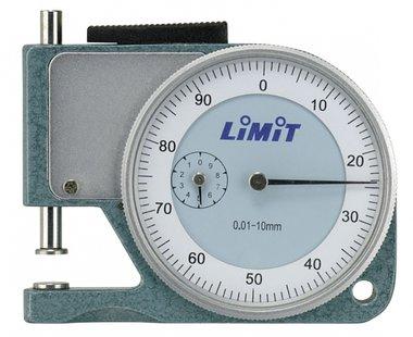 Jauge d'epaisseur analogique modele de poche de 10 mm