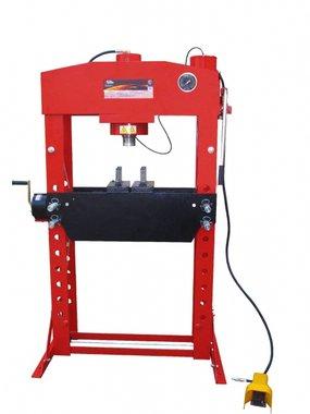 Presse hydraulique d'atelier hydropneumatique 75 t
