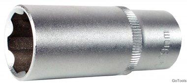 3/8 Douille longue 6 pans, Super Lock, 14 mm