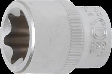 Douille pour clé, profil E 10 mm (3/8) E20