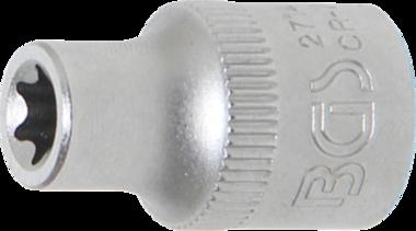 Douille pour clé, profil E 10 mm (3/8) E8