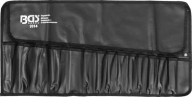 Sac roulettes pour outils avec 15 compartiments 660 x 320 mm vide