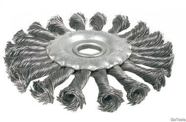 Brosse à fil, diamètre 125 mm