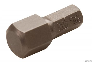 Embout Hex 12 mm, 30 mm long, 5/16
