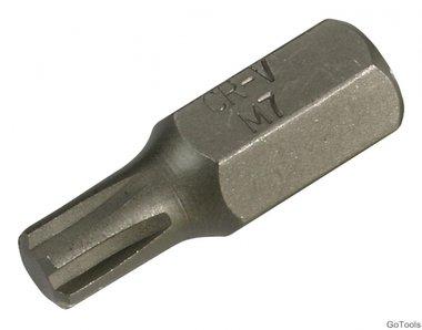Embout torx long 30 mm,M7