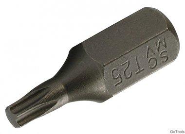 Bit 10 mm (3/8) hexagone externe profil T (pour Torx) T25
