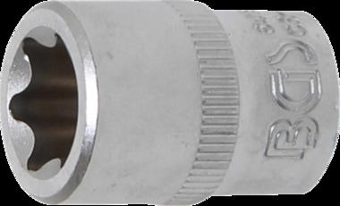 Douille pour clé, profil E 10 mm (3/8) E16