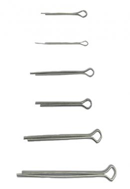 Assortiment de goupilles 1,6 - 4,0 mm 555 pieces