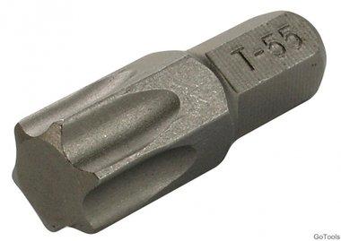 Mèche 8 mm (5/16) hexagonale profil T (pour Torx) T55