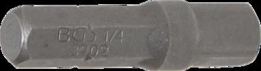 Adaptateur cliquet pour embouts, 6,3 mm (1/4) - m le 6,3 mm (1/4) 30 mm