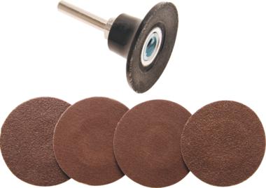 Disques de meulage de 50 mm avec adaptateur