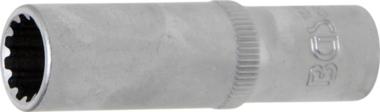 Douille pour clé, Gear Lock, profonde 10 mm (3/8) 12 mm
