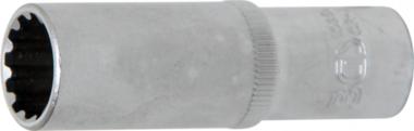Douille pour clé, Gear Lock, profonde 10 mm (3/8) 14 mm