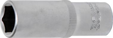 Douille pour clé, six pans, profonde 10 mm (3/8) 15 mm