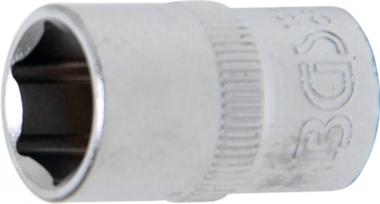 Douille pour clé, six pans 10 mm (3/8) 12 mm