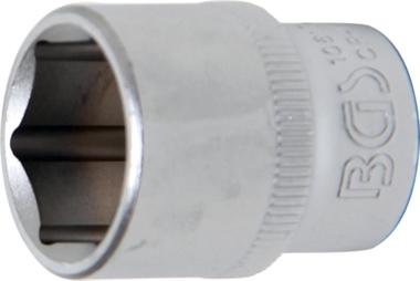 Douille pour clé, six pans 10 mm (3/8) 17 mm