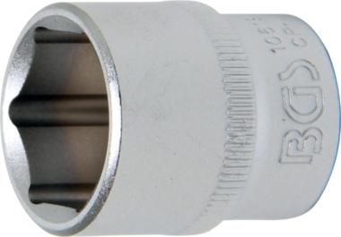 Douille pour clé, six pans   10 mm (3/8)   19 mm