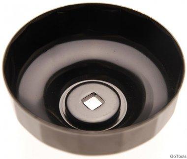 Cle a filtres cloches 18 pans diametre 96 mm pour Renault, VW