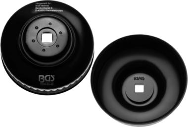 Cle a filtres cloches 45 pans diametre 93 mm pour Audi, VW