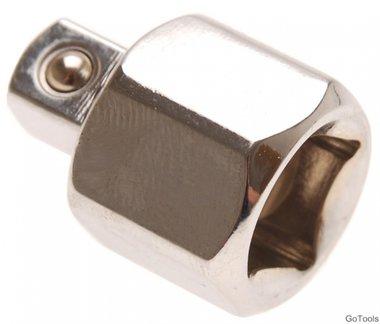 Adaptateur de cle douille femelle 12,5 mm (1/2) - m le 10 mm (3/8)