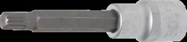 Douille a embouts longueur (1/2) denture multiple interieure (pour XZN) M9