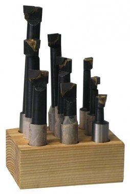 Jeu d'outils avec plaquettes brazees pour t tes d'alesage kkc, KBS625 -25mm
