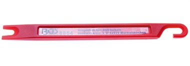 Nettoyeur exterieur de tuyau de frein 160 x 14 x 6 mm